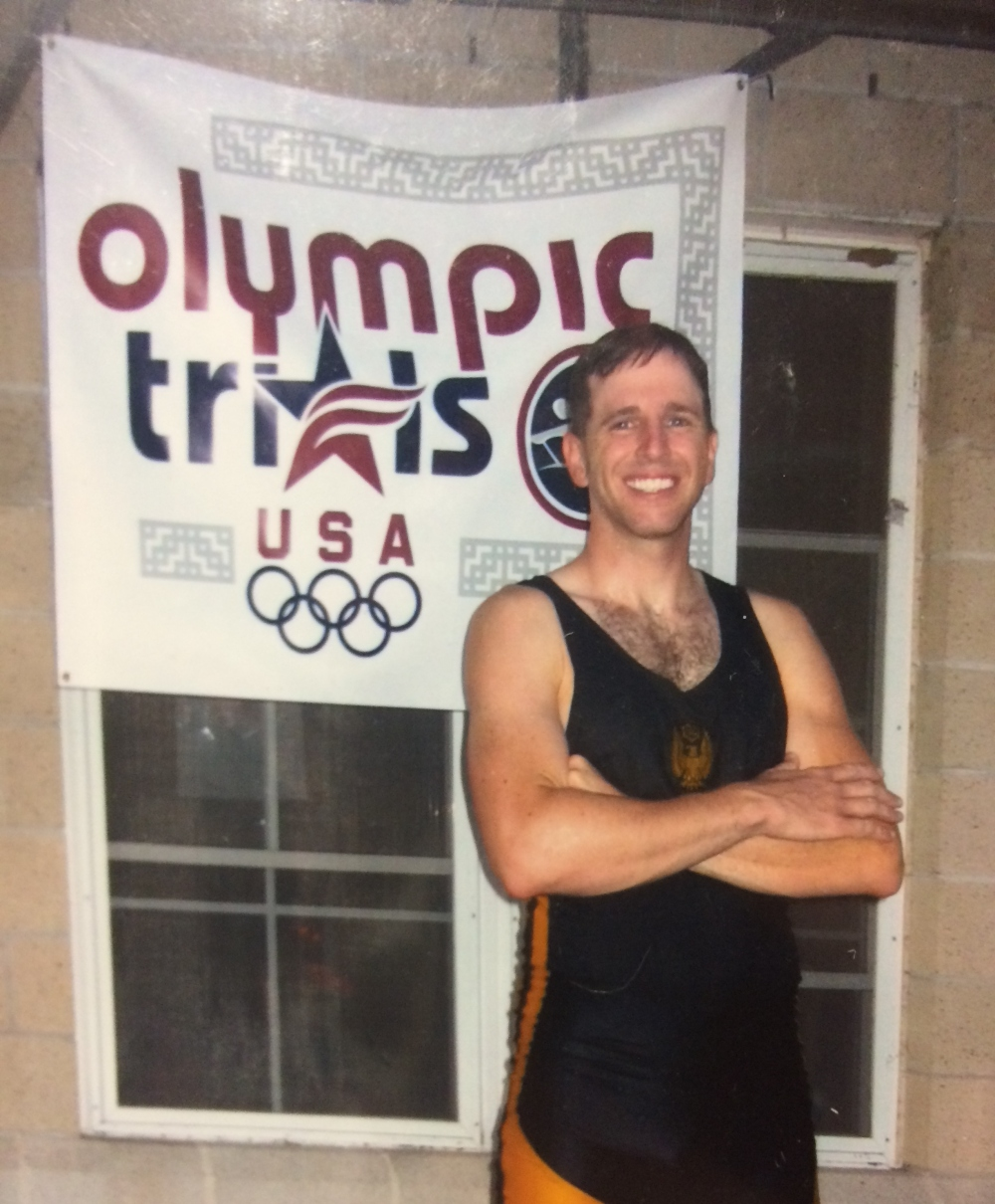 """Patrick Hoffman Rufo, 2008 US Olympic M2x Trials"" - Photo by Jenna Rufo, Wonderful/Supportive Spouse"