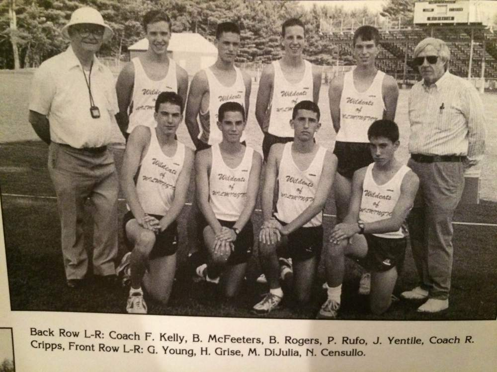 Coach Kelley and Patrick Rufo, top row, 3rd from right.